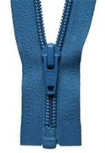 Royal Blue Nylon Open Ended Zip